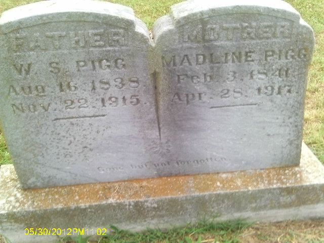 William Stokely and (Sarah) Madeline Pigg Tombstone Father of John Clayborn Pigg.jpg