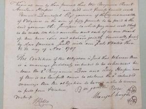 Benjamin Rose Marriage Certificate